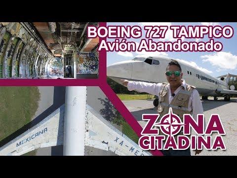 Avión Abandonado Boeing 727