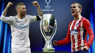 Real Madrid vs Atlético Madrid UEFA Super Cup 2018 Highlights PS4 Gameplay India