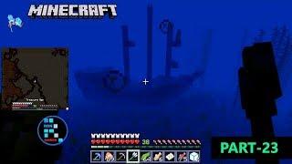MINECRAFT GAMEPLAY   WE FOUND TREASURE MAP IN UNDERWATER PIRATE SHIP#23