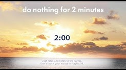do nothing for 2 minutes hd audio optimised for better experience