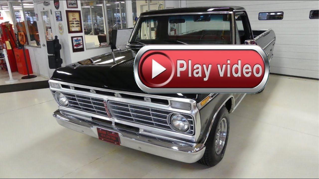 sold sold sold 1973 ford f100 ranger xlt 390 auto ac [ 1280 x 720 Pixel ]