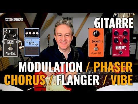 Gitarreneffekte: Phaser/Chorus/Tremolo/Flanger/Leslie/ - Anwendung, Einstellungen, Spielweise