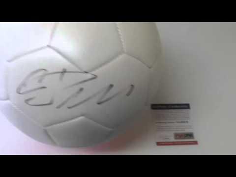 2ec6e3140c5 Cristiano Ronaldo Autographed Real Madrid Nike Soccer Ball Futbol PSA DNA  COA