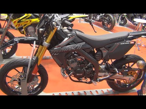 Rieju MRT 50 Pro Supermotard (2017) Exterior and Interior
