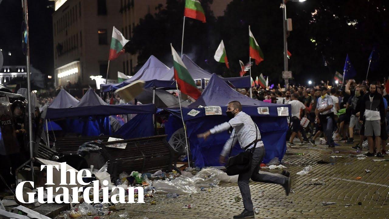 Антиправителствените протести в сблъсък с българската полиция (september 2020)