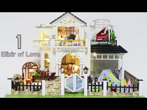 DIY Miniature House Kit * Elixir of Love * 사랑의 묘약 미니어처 하우스 * ミニチュアハウス * 花好月圆