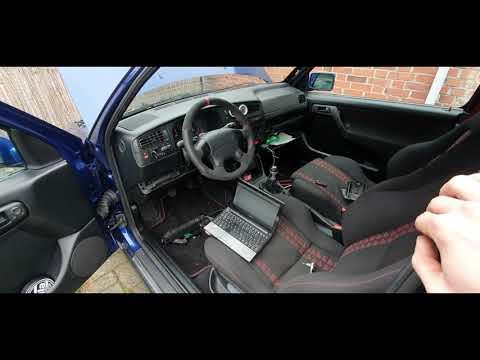 Zweite Probefahrt Projekt VW Golf 3 20 Jahre Edition GTI / Golf 3 Vr6 Turbo Umbau Teil 19