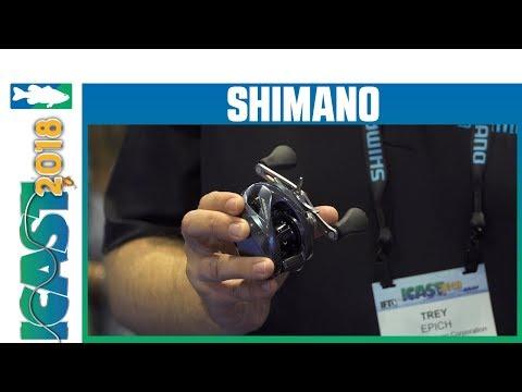 Icast 2018 Videos Shimano Aldebaran Mgl 50 Casting Reel With Trey