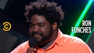 calling your son an asshole ron funches