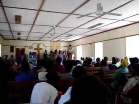 Zambia, Mwandi - Church 1