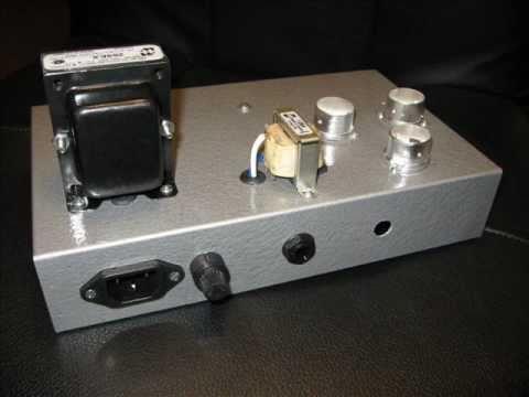 Pearly Hendrix on Firecracker, custom tube amp build.wmv