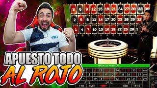 Obtengo mi mayor ganancia y la apuesto todo al rojo | Casino Challenge #5