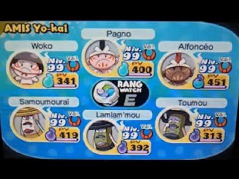 Dans Yo kai Watch 2 se rajouter rapidement tous les Yo-kai + de l'argent