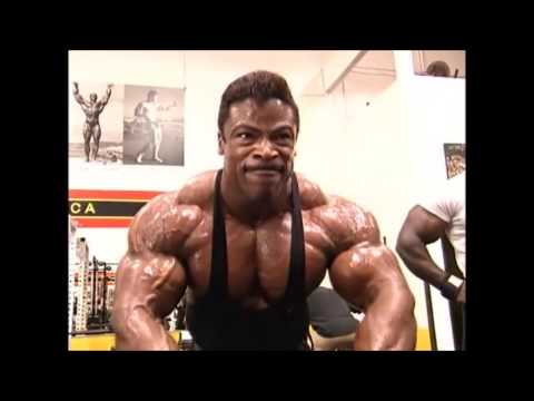 Aaron Baker Chest and Arms
