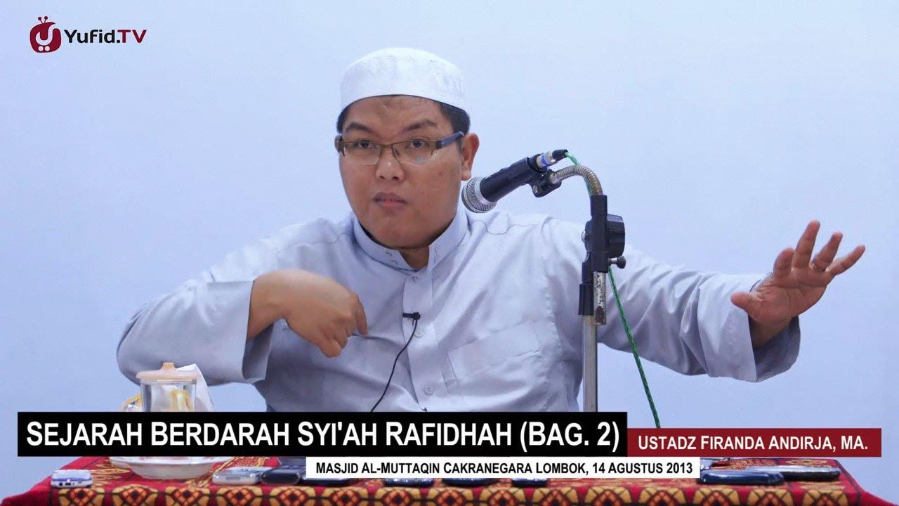 Pengajian Agama Islam: Sejarah Berdarah Syi'ah Rafidhah