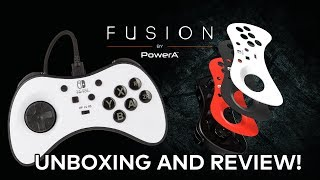 FUSION Wired Fight Pad by PowerA - UNBOXING AND REVIEW!