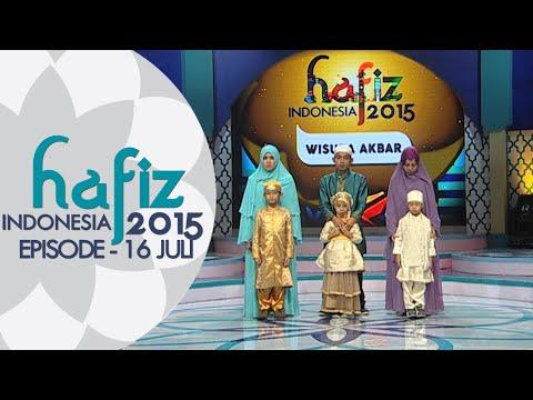 Siapa ya yang menjadi Juara Pertama di Wisuda Akbar? [ HAFIZ INDONESIA 2015 ] 16 JULI 2015