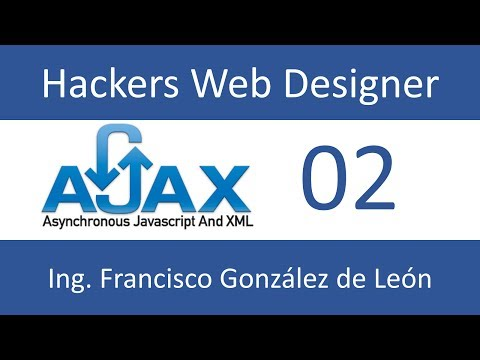 02 Curso AJAX : El objeto XMLHttpRequest