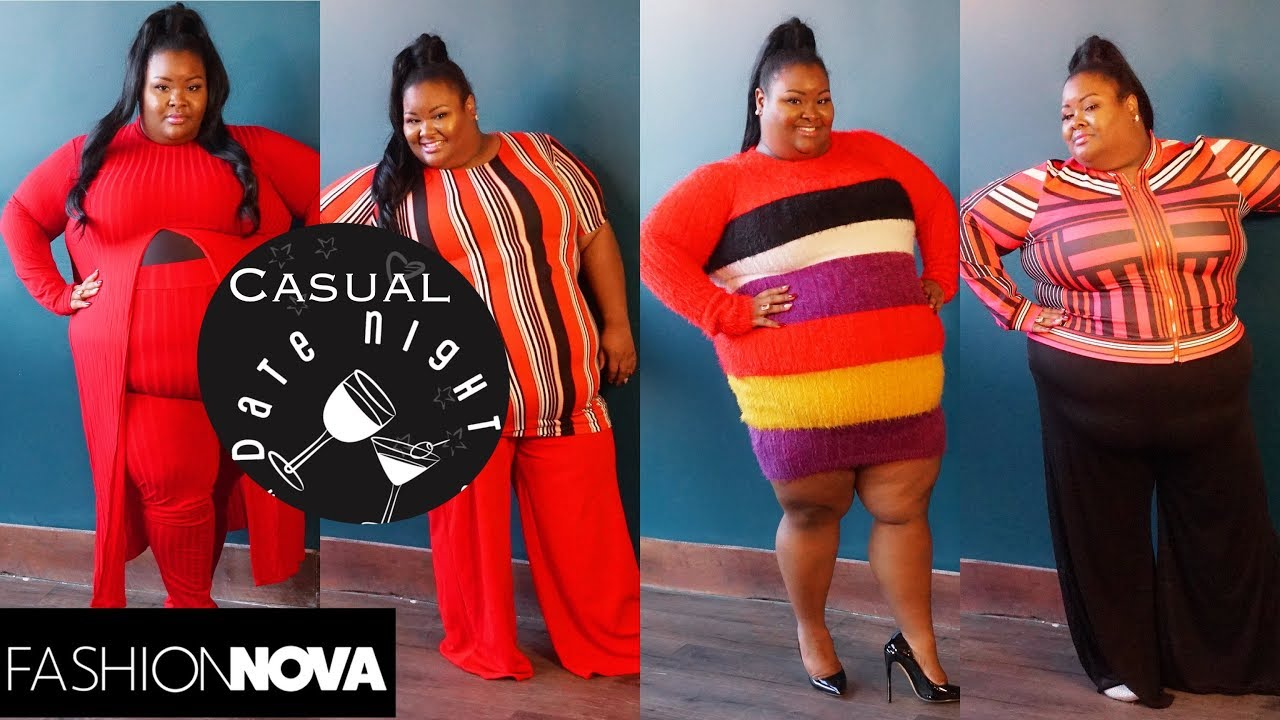 [VIDEO] - Casual Date Night|Plus Size Lookbook|Plus Size Fashion|Fashion Nova Haul|Casual Vday|Casual Outfits 8