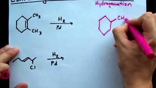 Reducing Alkenes to Alkanes
