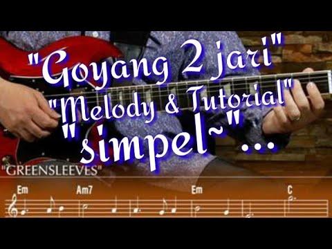 Sandrina goyang 2 jari - melodi & tutorial