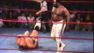 IWA Championship Wrestling - Junkyard Dog vs Man Mountain Mike Moore