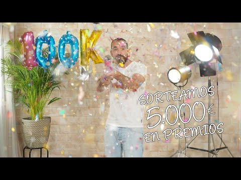 SORTEAZO 100K Suscriptores!!