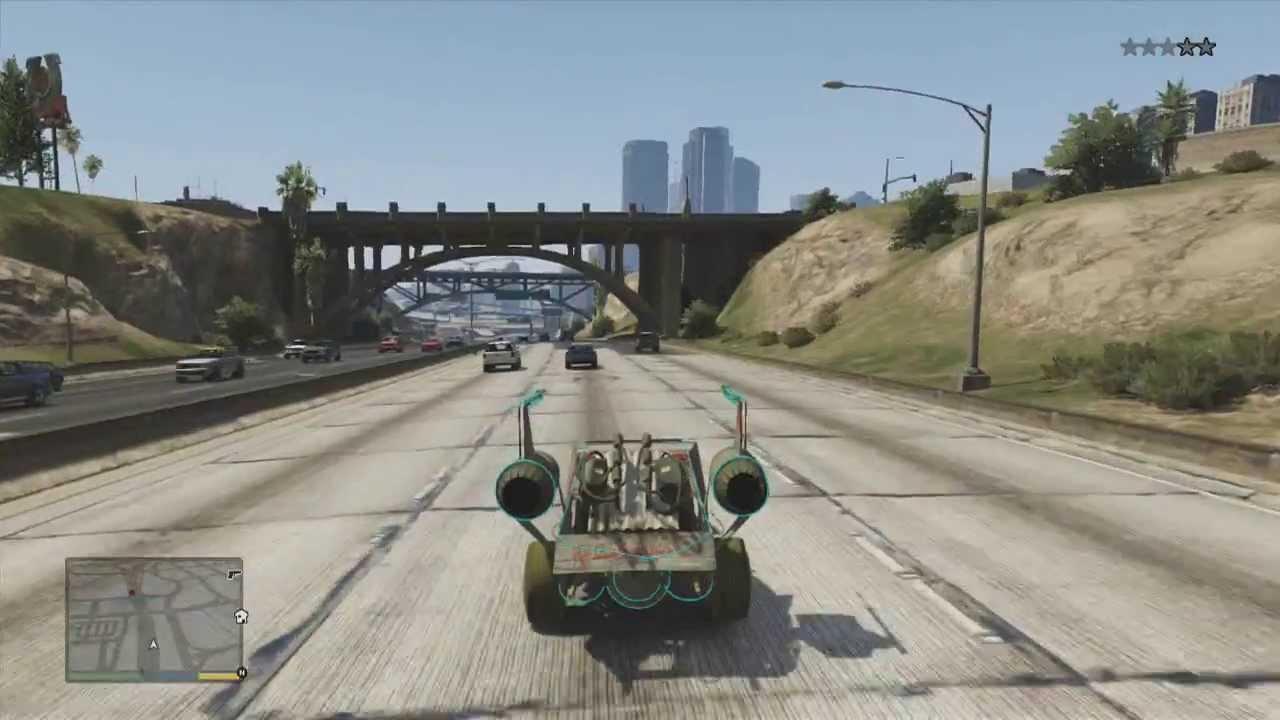 Grand Theft Auto V - Alle 50 Raumschiff Teile + Belohnung (Deutsch ...