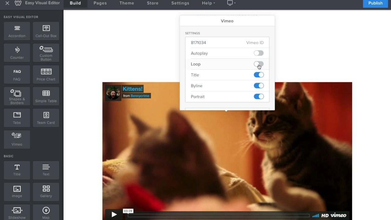 Responsive Vimeo - Add Vimeo videos that fit on any device