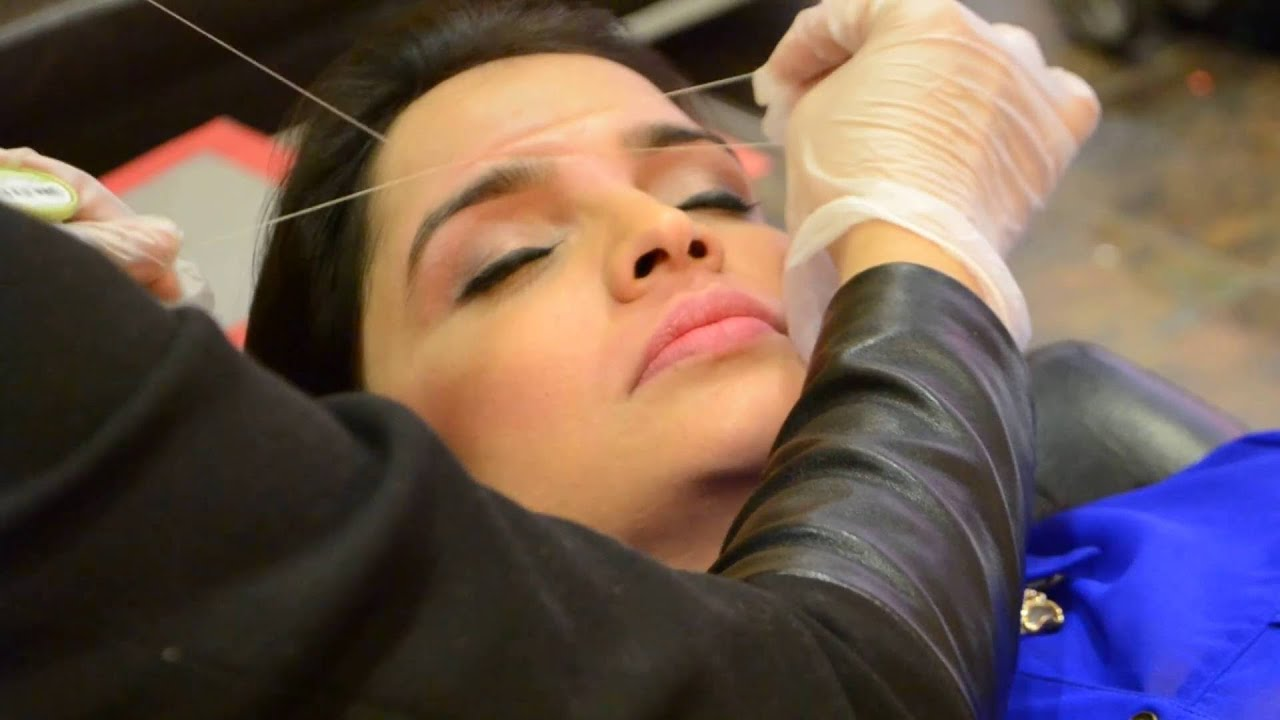 Gbs Brows Threading 2016 4 Youtube