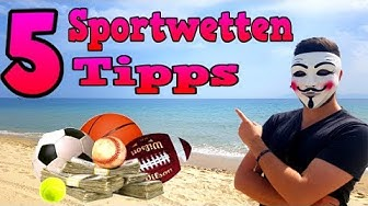 Meine 5 besten Sportwetten Tipps mit Gewinngarantie 😍💸