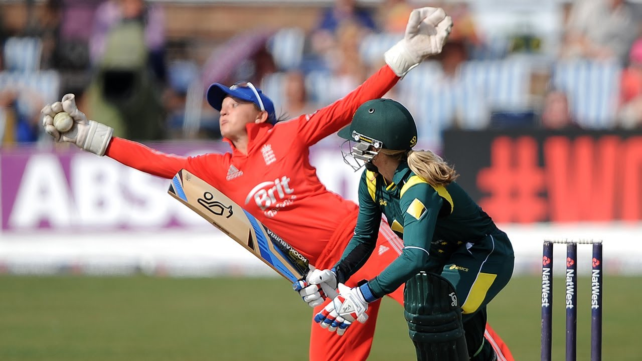 Image result for womens cricket catch