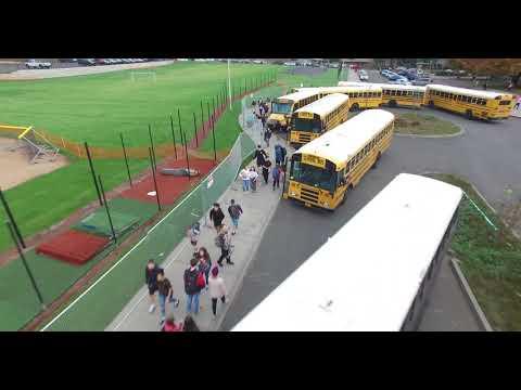 [4K] Rowe Middle School Outside Overview
