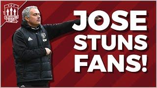 Jose MOURINHO Stuns MAN UTD FANS! MUFC NEWS