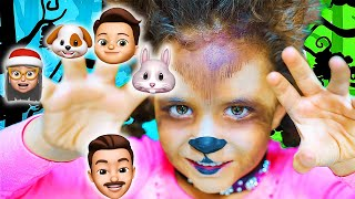 TOP 5 Finger Family Songs FAM JAM Compilation |  Includes Finger Family Christmas and Halloween