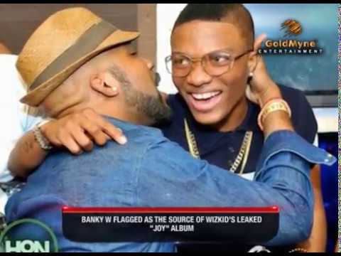Download BANKY W FLAGGED AS THE SOURCE OF WIZKID'S LEAKED 'JOY' ALBUM (Nigerian Entertainment)