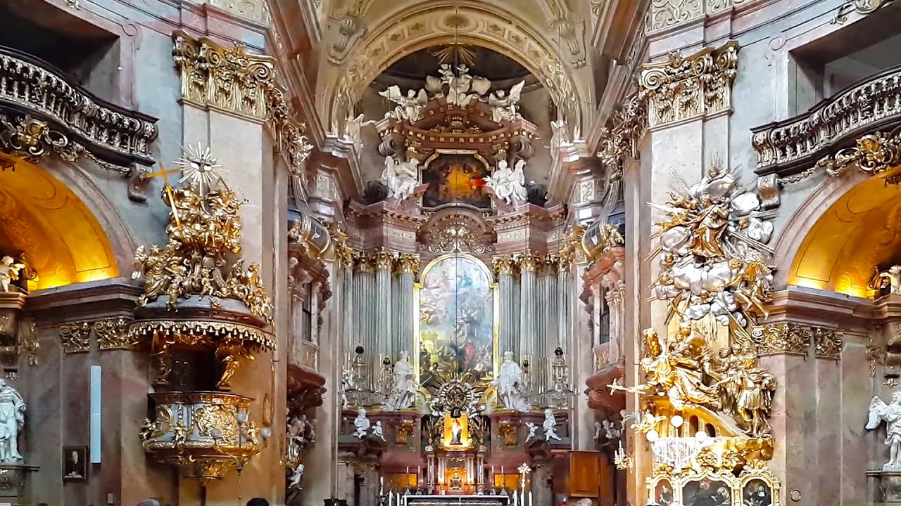 St Peters Church Peterskirche In Vienna Austria Youtube