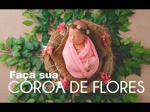 COROA DE FLORES PARA ENSAIO NEWBORN | FAÇA VOCÊ MESMO de YouTube · Duração:  8 minutos 31 segundos
