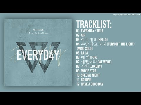 Full Album] WINNER - EVERYDAY (2nd Album) - Most Popular Videos