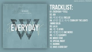 Download [Full Album] WINNER - EVERYDAY (2nd Album) MP3 song and Music Video