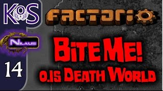Factorio 0.15 Bite Me! Ep 14: SOLAR REVOLUTION - Death World COOP MP Gameplay, Let