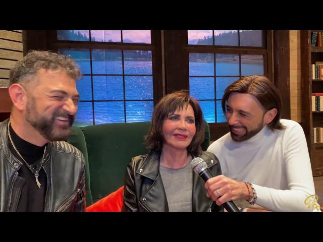 Sul lago dorato - Intervista a Gianfranco D'Angelo, Fiordaliso e Corinne Clery