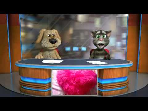 Talking Tom & Ben News.¡El cojín molon!