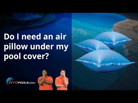 do i need an air pillow under my pool cover
