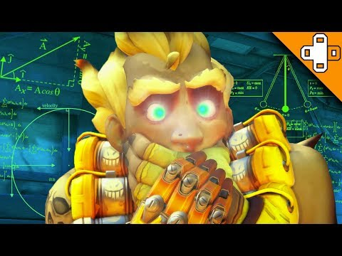 1000 IQ JUNKRAT PLAY! Overwatch Funny & Epic Moments 454