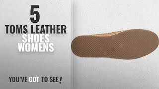 Top 5 Toms Leather Shoes Womens [2018]: TOMS Women's Seasonal Classics Honey Leather 8.5 B US