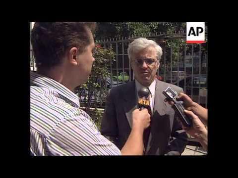 BELGRADE: RUSSIAN ENVOY VITALY CHURKIN BOSNIA PRESS CONFERENCE