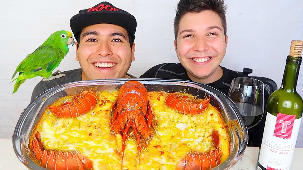 Spicy Lobster Mac Cheese 300k Celebration Mukbang Recipe
