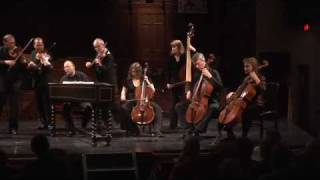 Tafelmusik performs J.S. Bach's Brandenburg Concerto No 3 (third movement)
