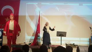 Çorum İli  İstiklal Marşı Güzel Okuma Yarışması Biricisi Danişmend Gazi İmam Hatip Ortaokulu